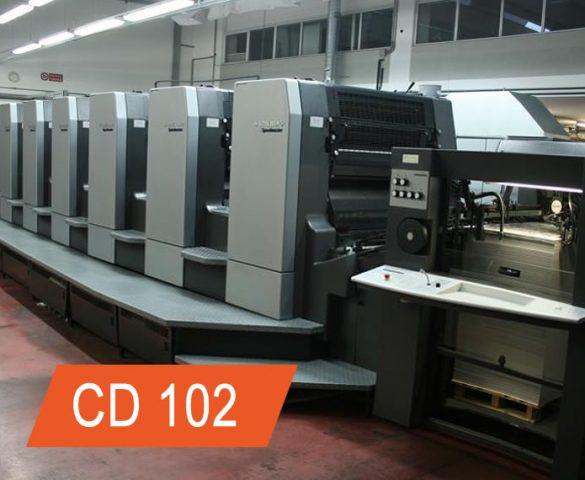 manutenção heidelberg cd102