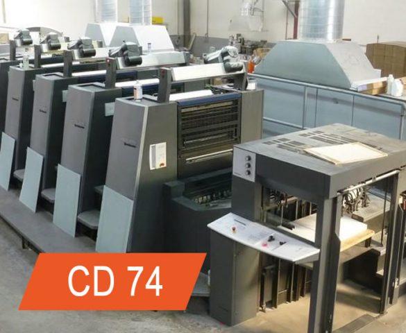 manutenção heidelberg cd74