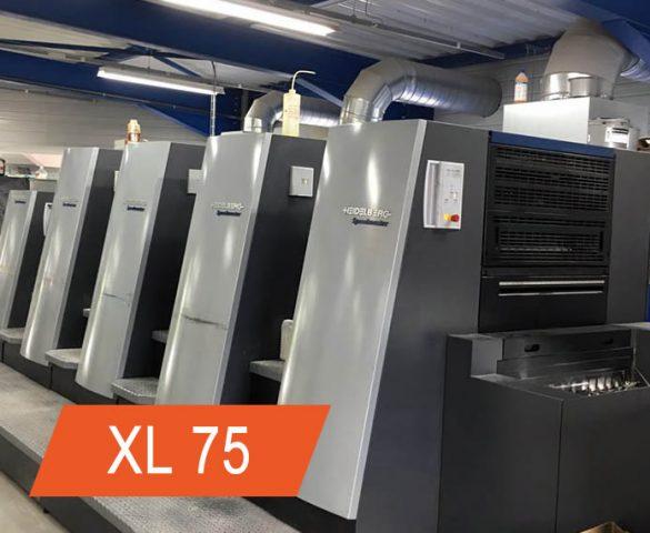 manutenção heidelberg xl75